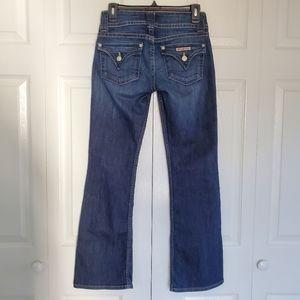 EUC Hudson Signature Petite Bootcut Stretch Jeans